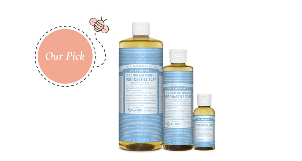 Baby Bath Products Our Pick