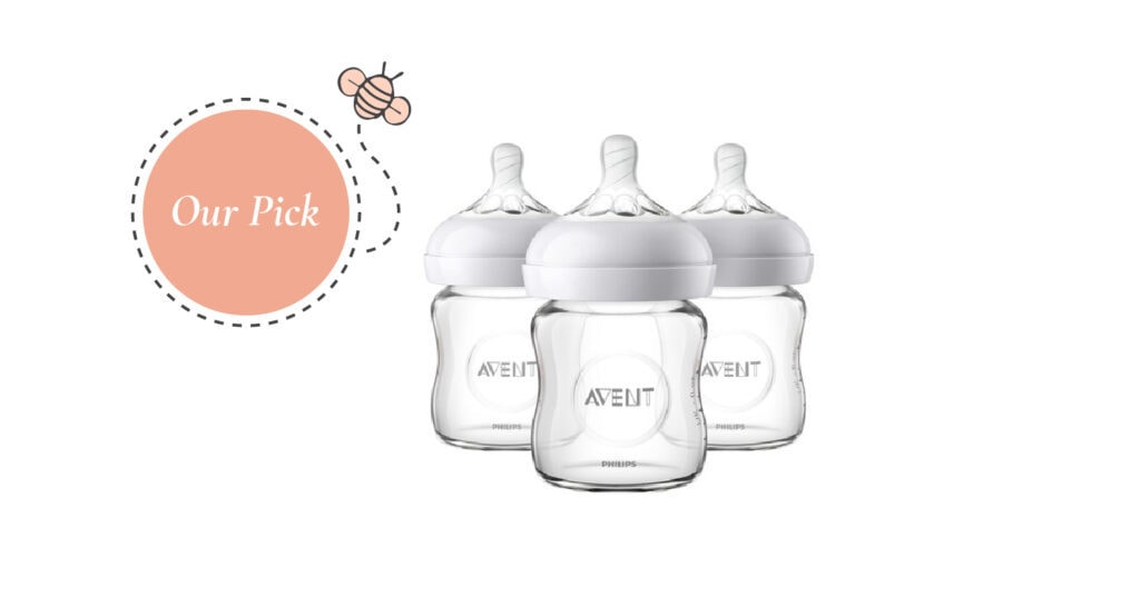 Philips Avent Natural Glass Baby Bottles