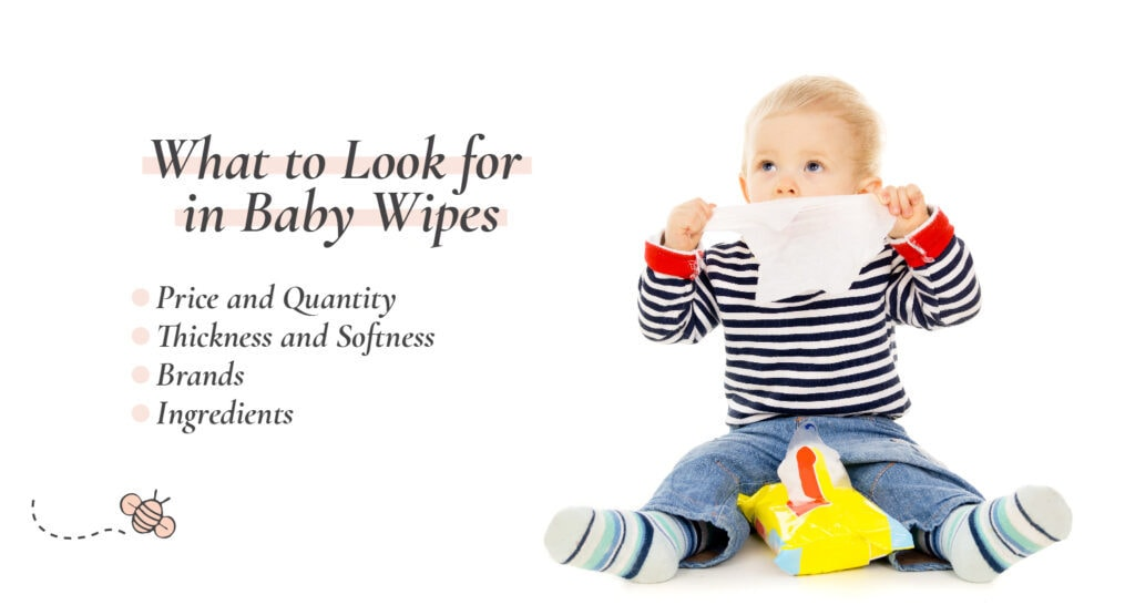 What to look for in baby wipes
