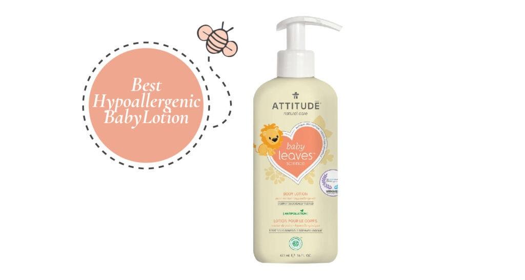 Best Hypoallergenic Baby Lotion - ATTITUDE