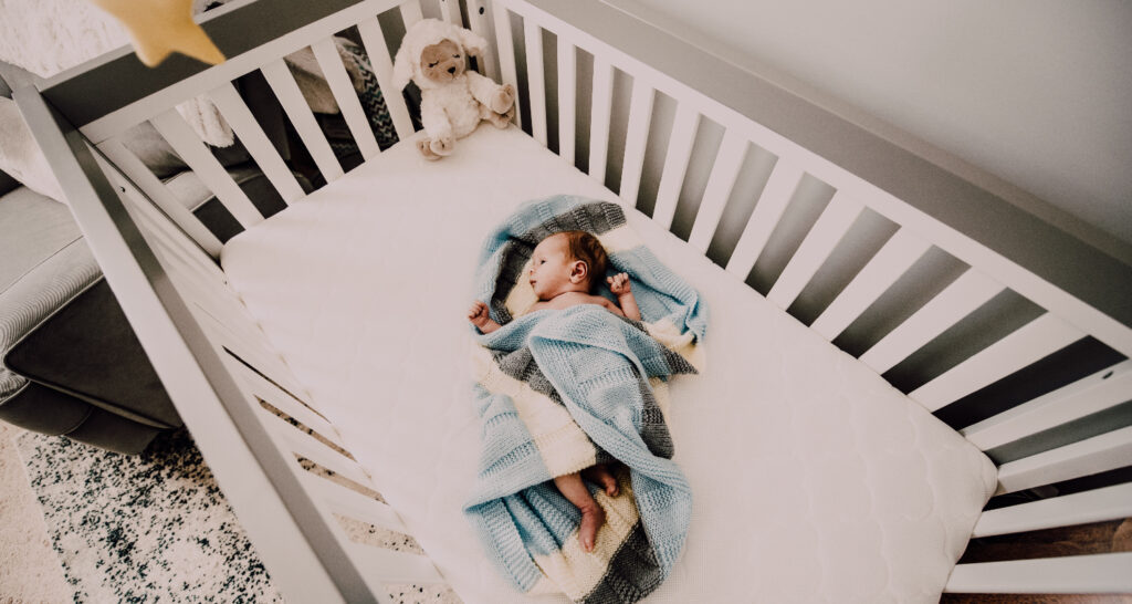 Conclusion - Baby in a crib
