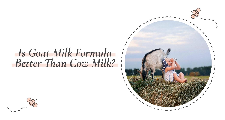 Is Goat Milk Formula-Better Than Cow Milk