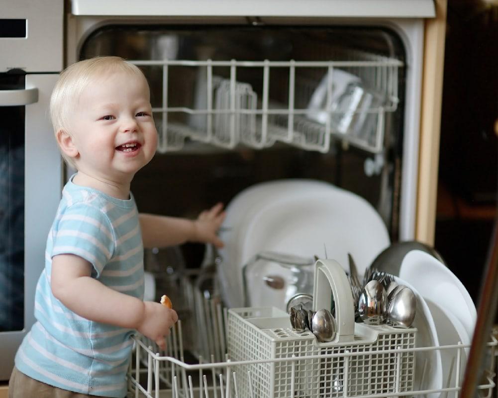 Washing baby bottles using Dishwasher