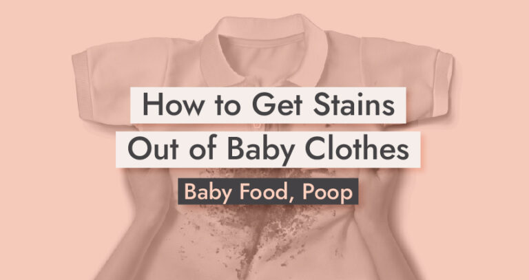 How to Get Stains Out of Baby Clothes