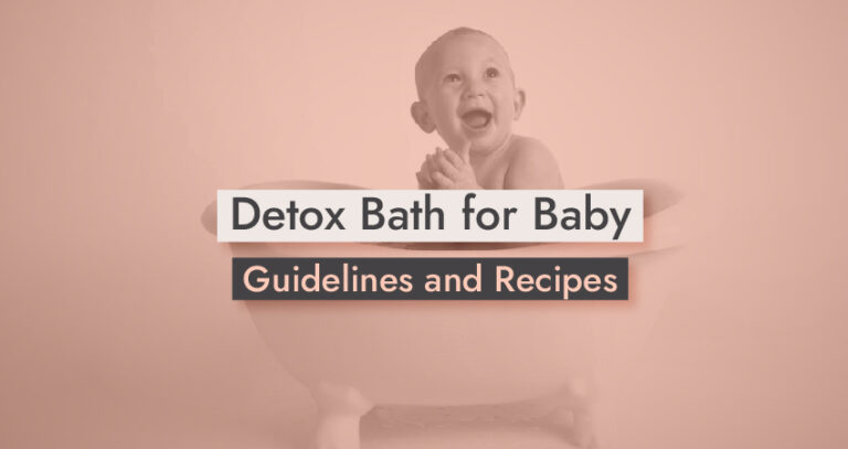Detox Bath for Baby