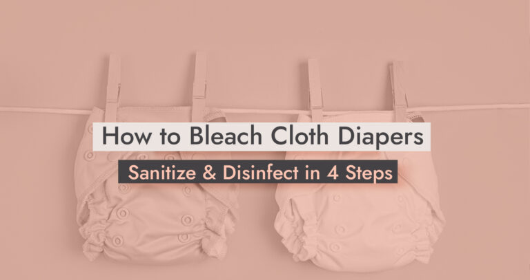 How to Bleach Cloth Diapers