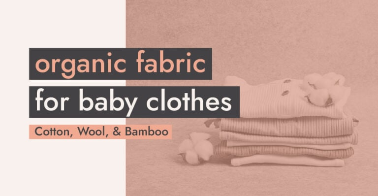 Organic Fabric for Baby Clothes