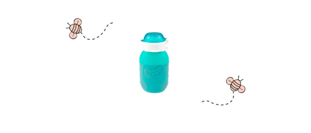 Squeasy Snacker Reusable Baby Food Pouch