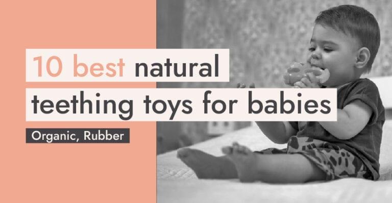Natural Teething Toys