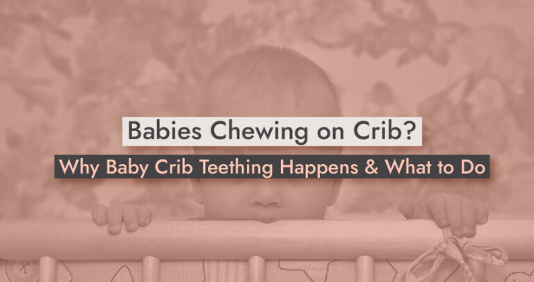 Babies Chewing on Crib